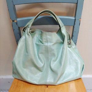 Authentic Furla vintage leather bag